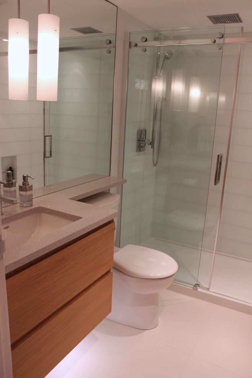 Toilet Renovation Package Awesome Condo Bathroom Reno Front With
