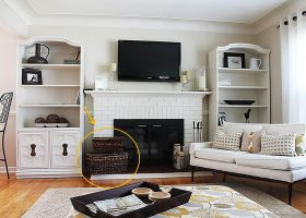 Living Room Organizing Ideas
