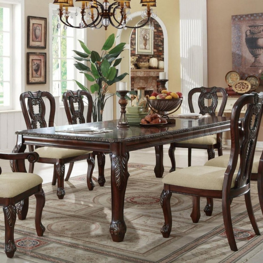 Traditional Dining Room Tables Marceladick Com Dennis Futures