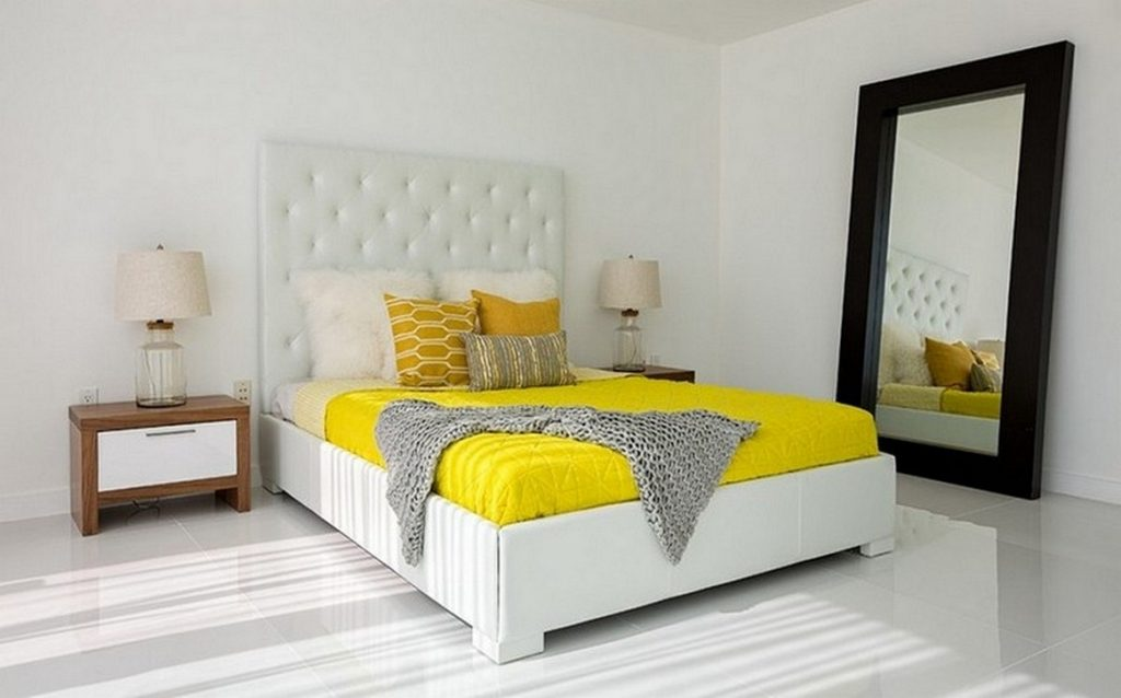 Uncategorized Yellow And Grey Bedrooms Bedroom Prepossessing Gray