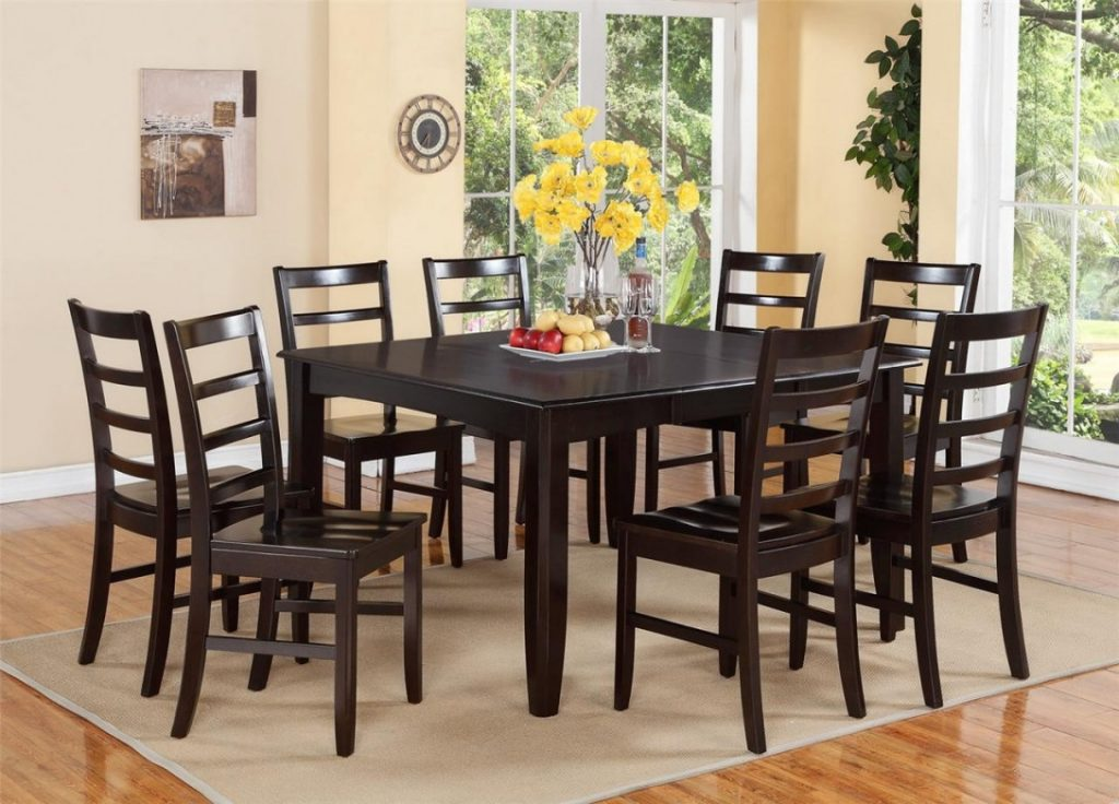 Unique Design Round Dining Room Tables Seats 8 Stunning Idea Dining