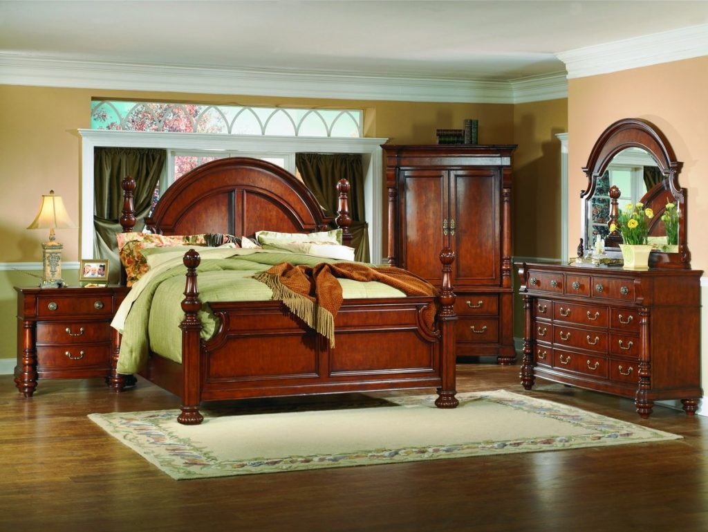 Unique King Bedroom Sets With Armoires For Home Design Ideas With