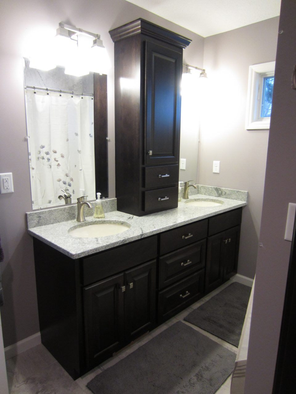 Valley Custom Cabinets Bathroom Cabinetry Vanity Linen St Paul Mn