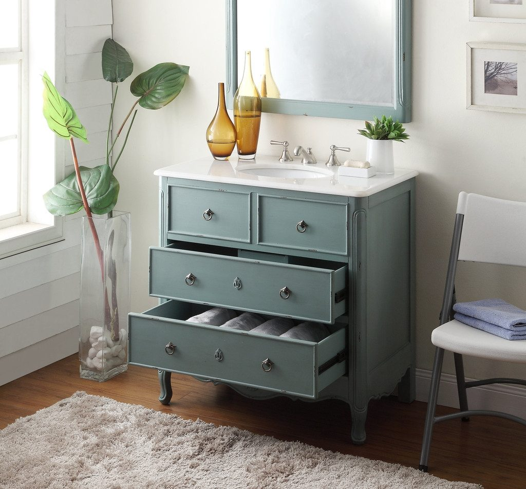 Vintage Bathroom Vanity With Vessel Sink 4 Considerations To Buy