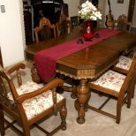 Vintage Dining Table Set Outstanding Antique Room Chairs Furniture