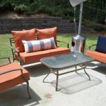 Vintage Patio Decoration With On A Budget Outdoor Furniture Set On
