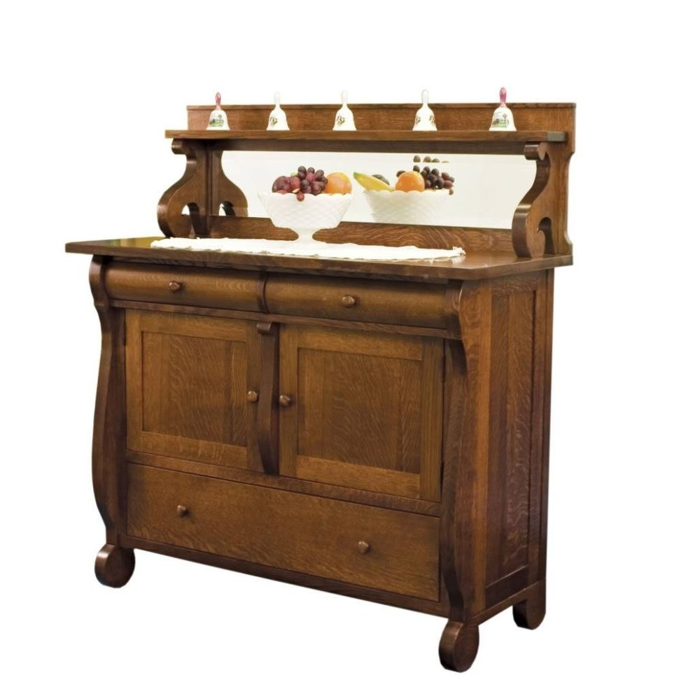 Vintage Sideboards And Buffets Dining Room Sideboard Amish Buffet