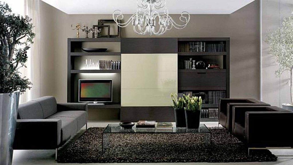 Wall Living Room Color With Black Furniture Safe Home Inspiration
