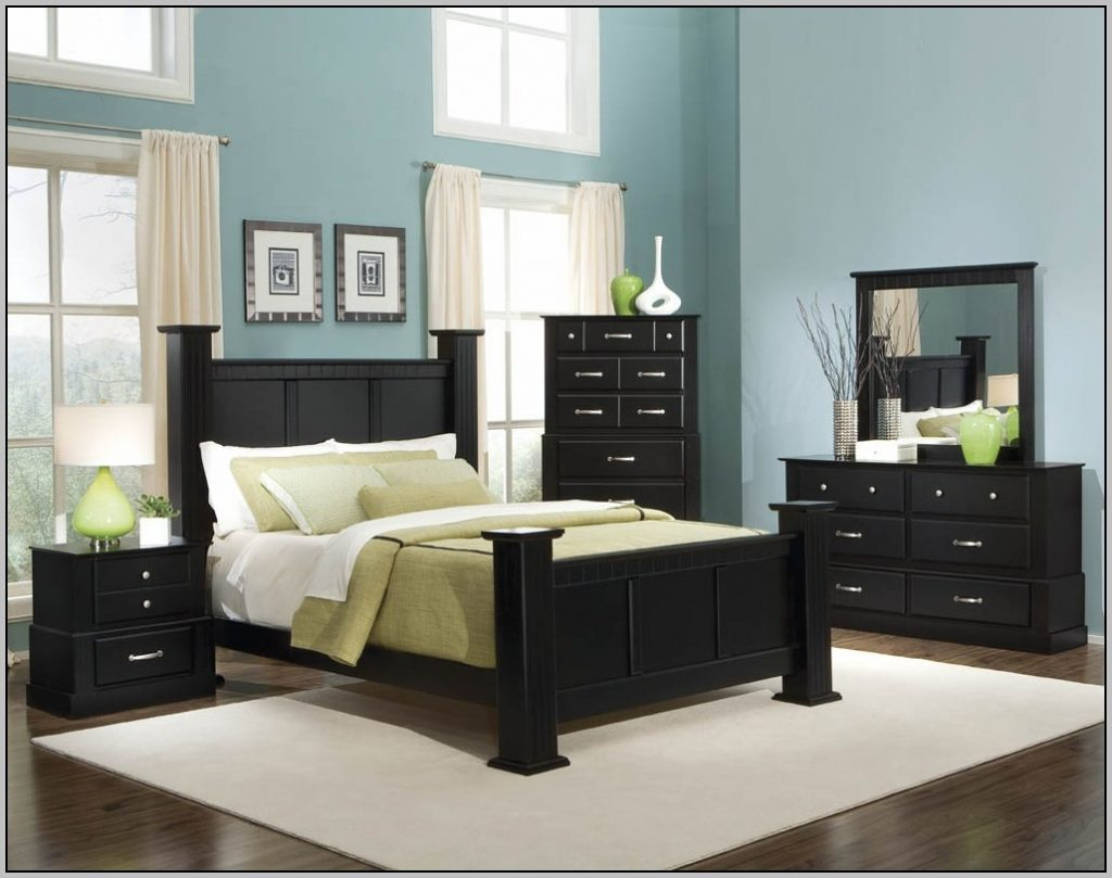 What Wall Color Goes With Black Furniture Modern Colors For Ideas