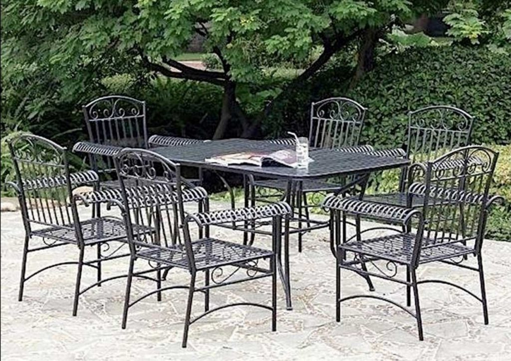 White Cast Iron Patio Furniture Simple Cast Full Size Of Chairs