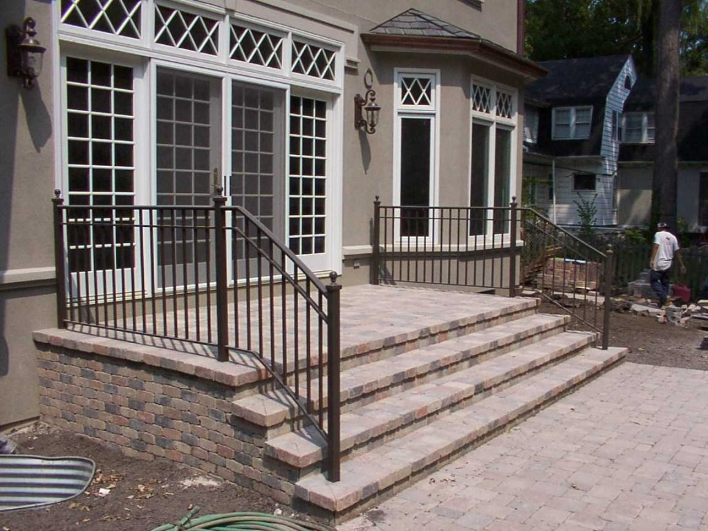 Wrought Iron Deck Railing Designs Ideas Railings Home 2018 And
