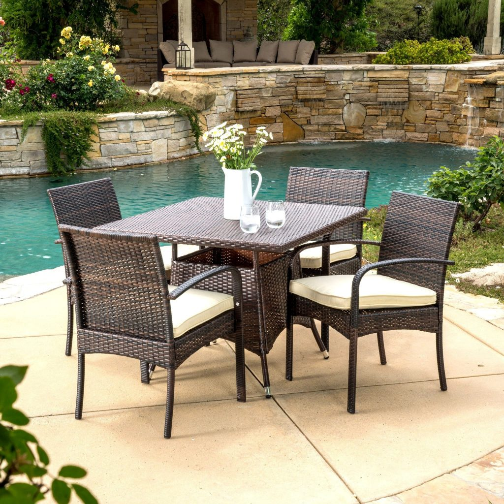 Wrought Iron Patio Table For 6
