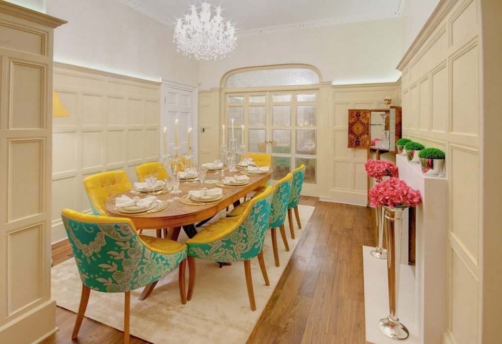 Yellow Dining Room Chairs Modern Design With Chairs Surripui