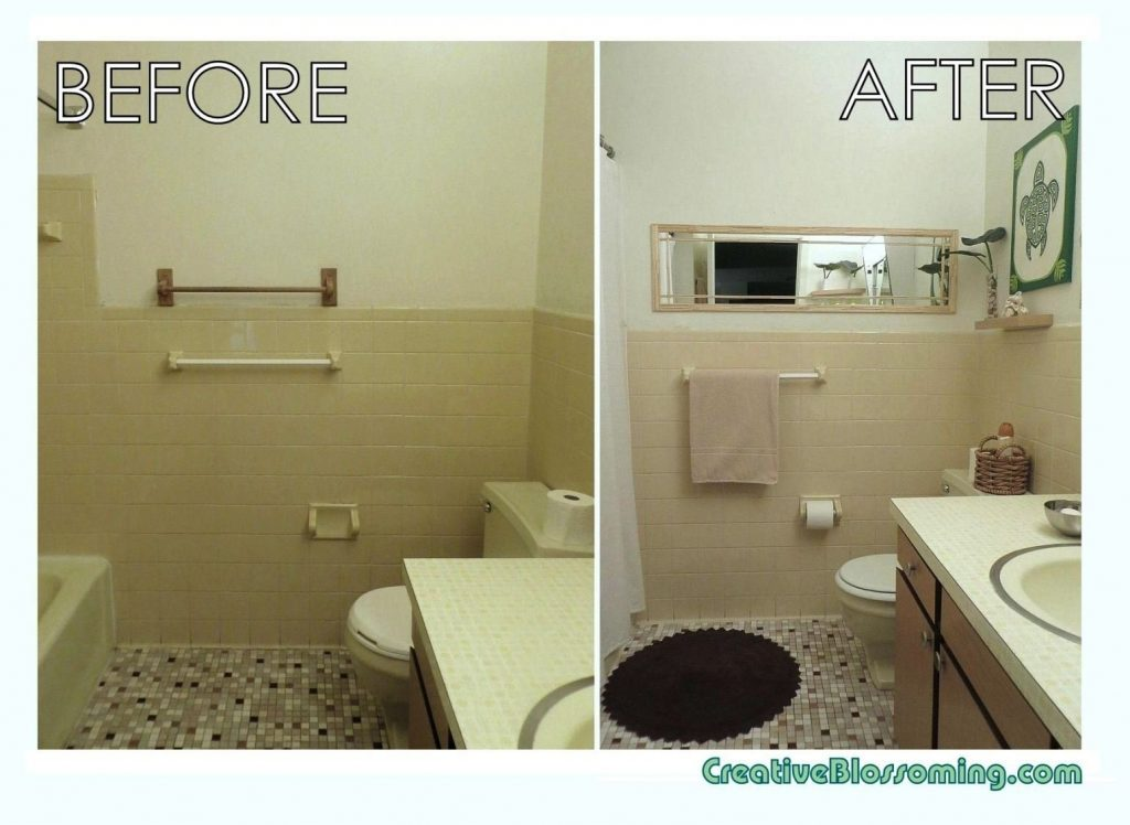 10 Trendy Small Bathroom Decorating Ideas On A Budget