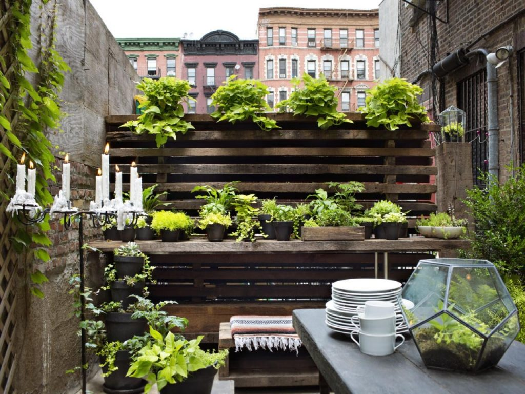 10 Ways To Make The Most Of Your Tiny Outdoor Space Hgtvs