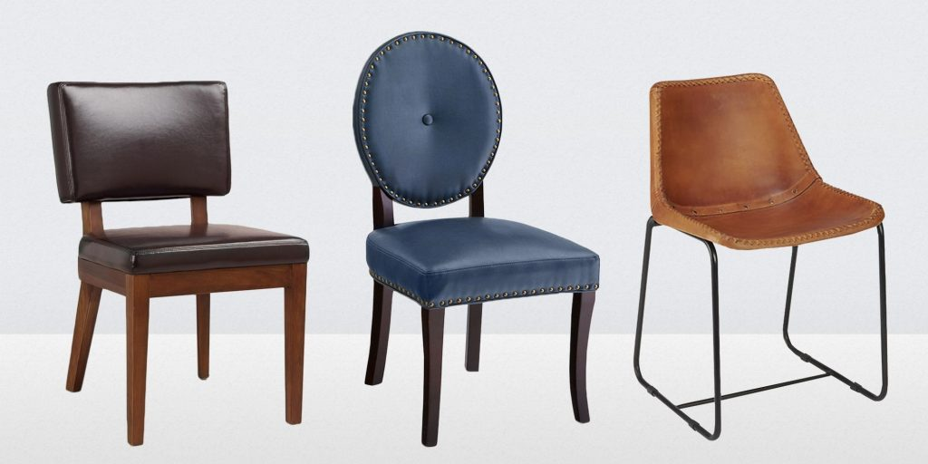 13 Best Leather Dining Room Chairs In 2018 Leather Side Arm And