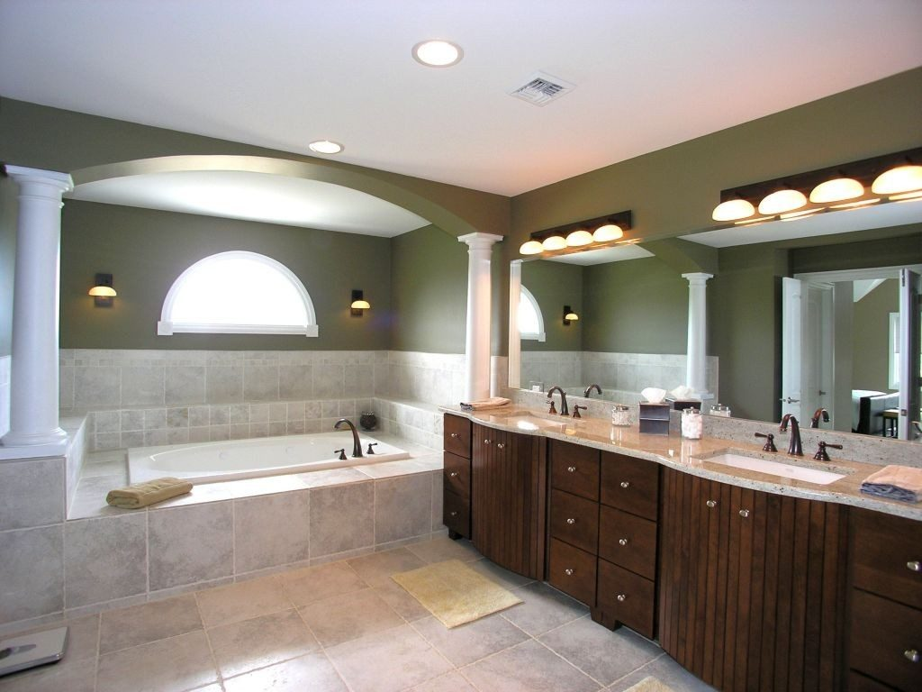 18 Stunning Master Bathroom Lighting Ideas