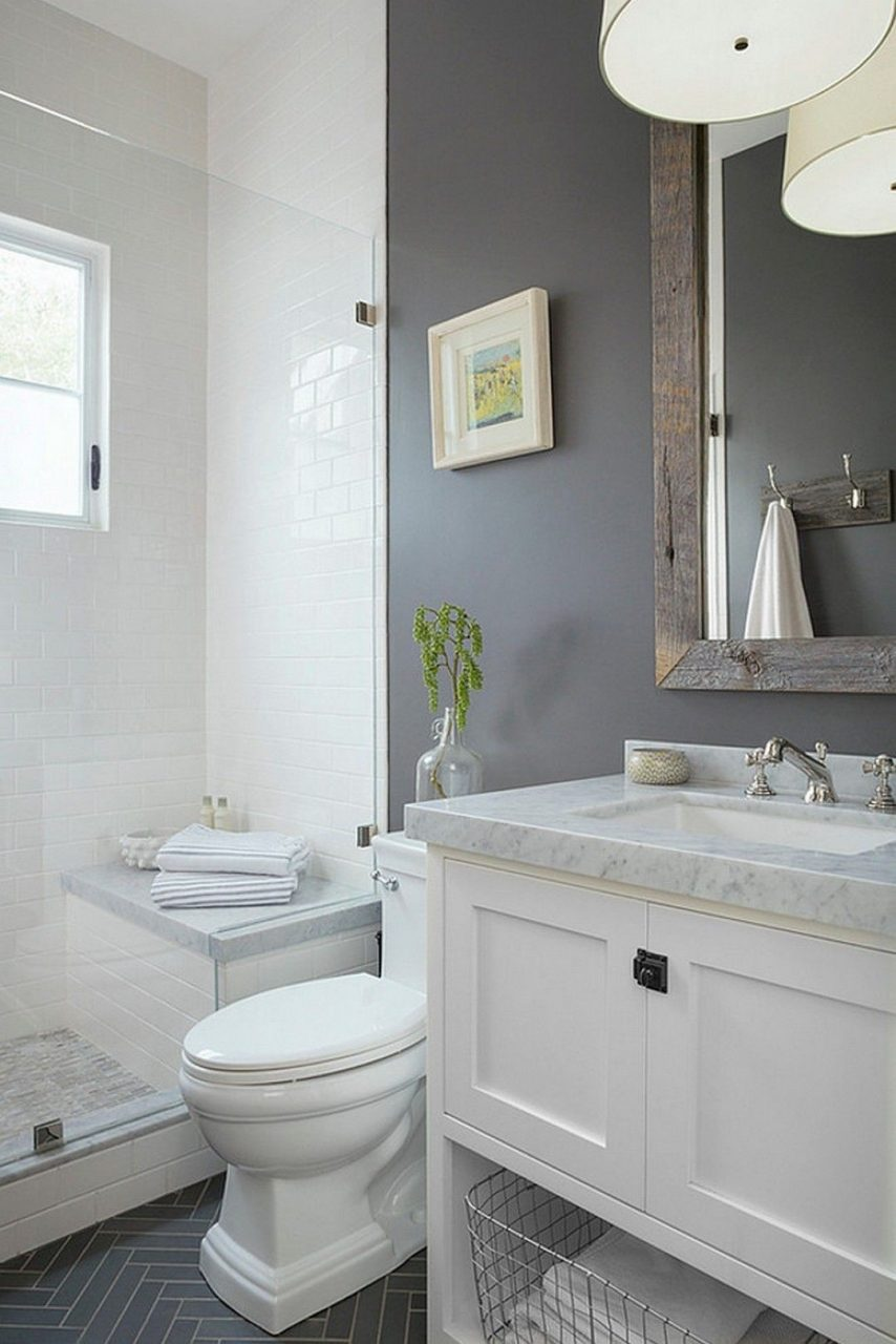 20 Inspirational Small Bathroom Decorating Ideas On A Budget Badt