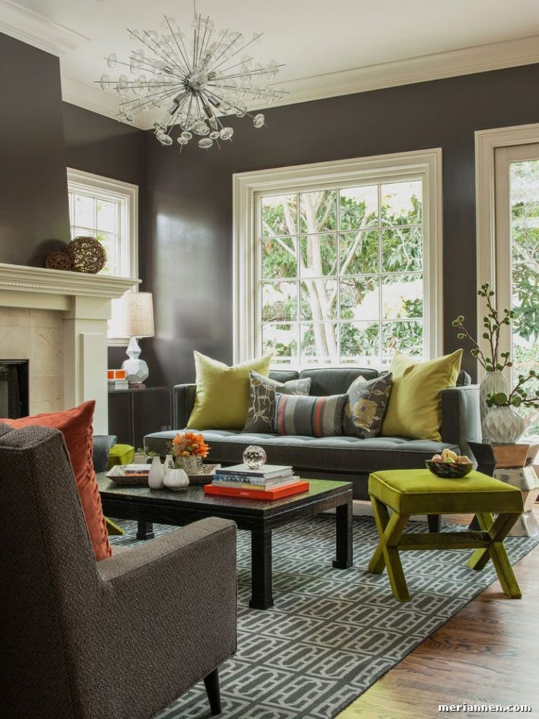 23 Green Accent Chairs In Living Room For A Refreshing Touch Home