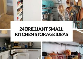 Ideas For Small Kitchens Storage