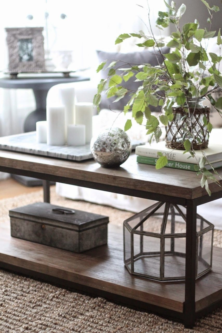 3 Ways To Style A Coffee Table My Home Blog Pinterest Coffee