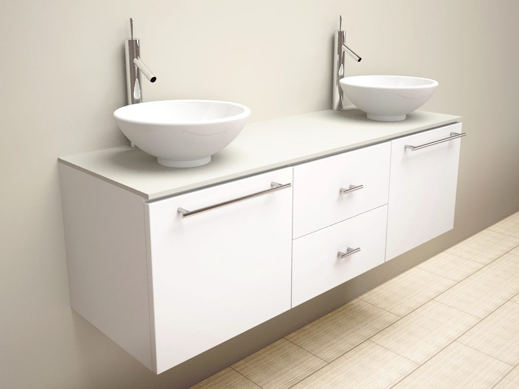 30 Wonderful Bathroom Vanities With Bowl Sinks Eyagci
