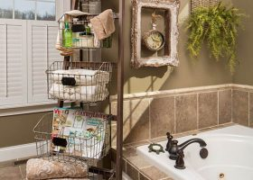 Bathroom Ideas For Towel Storage