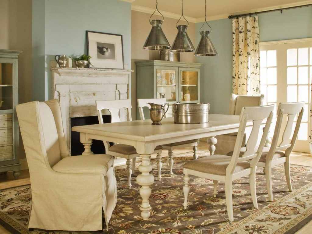 77 Country Style Dining Room Sets Interior Paint Color Schemes