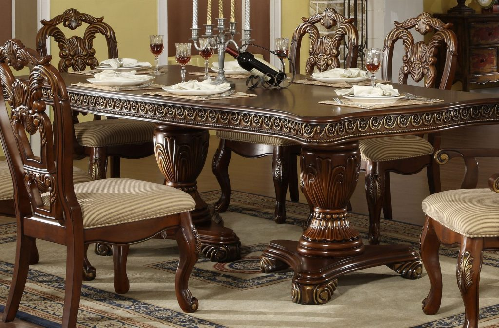 96 Elegant Traditional Dining Room Sets Chair Design Ideas