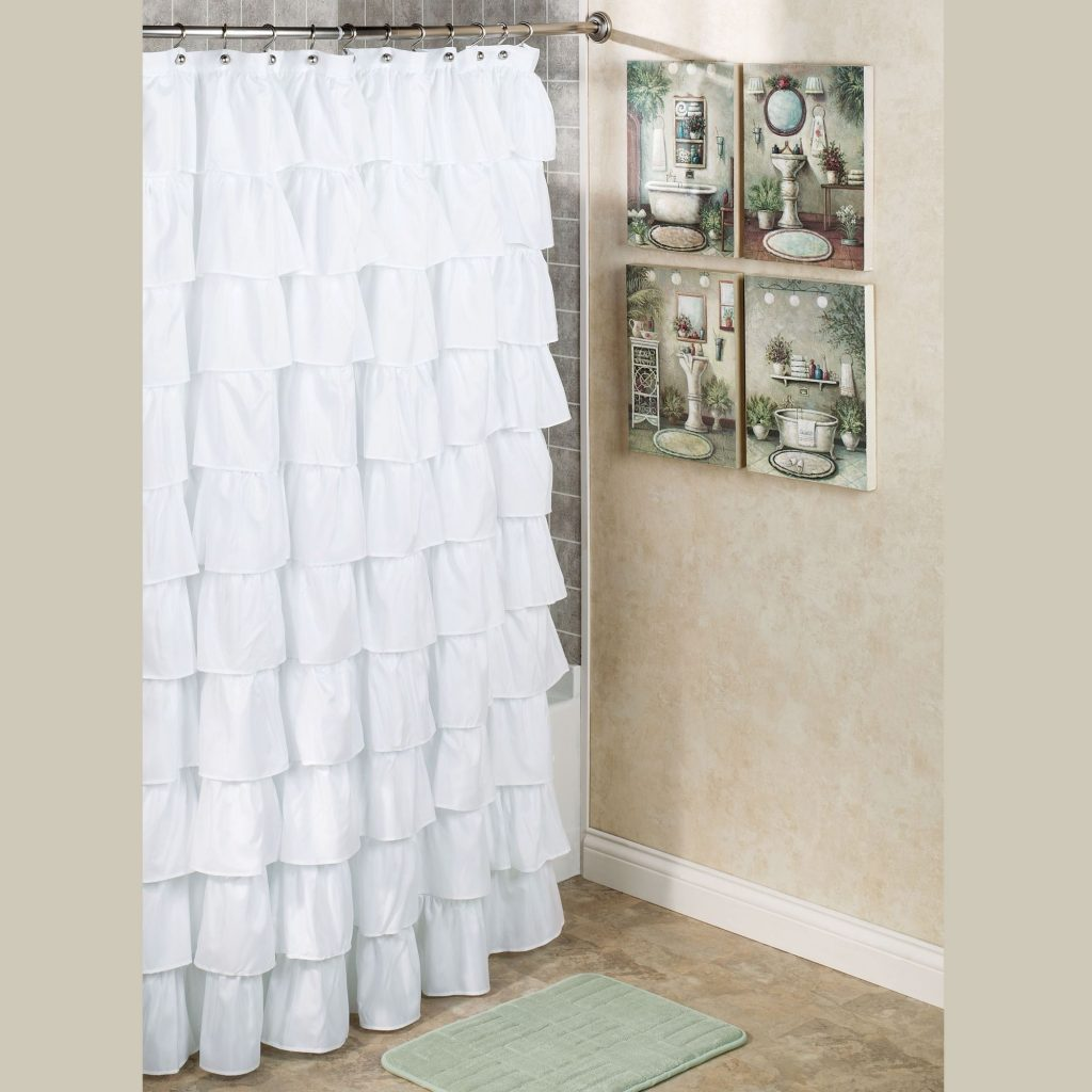 Advantages Of Installing White Shower Curtains Bellissimainteriors