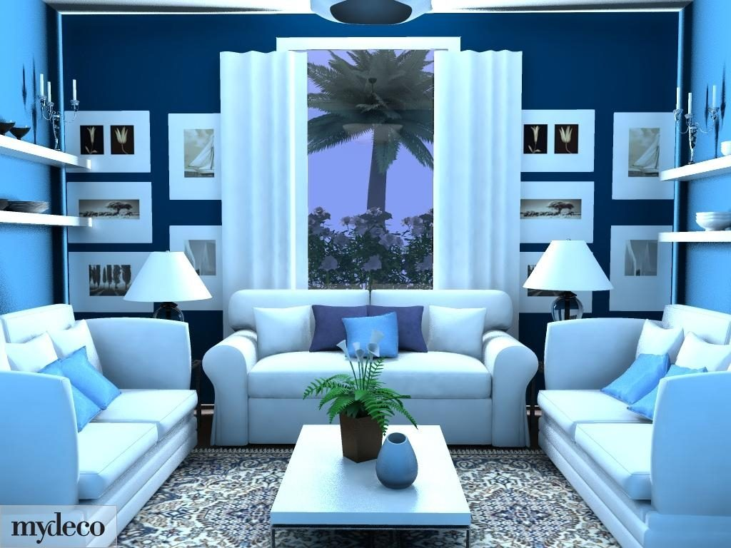 Amazing Of Excellent Blue Living Room Living Room Design 592