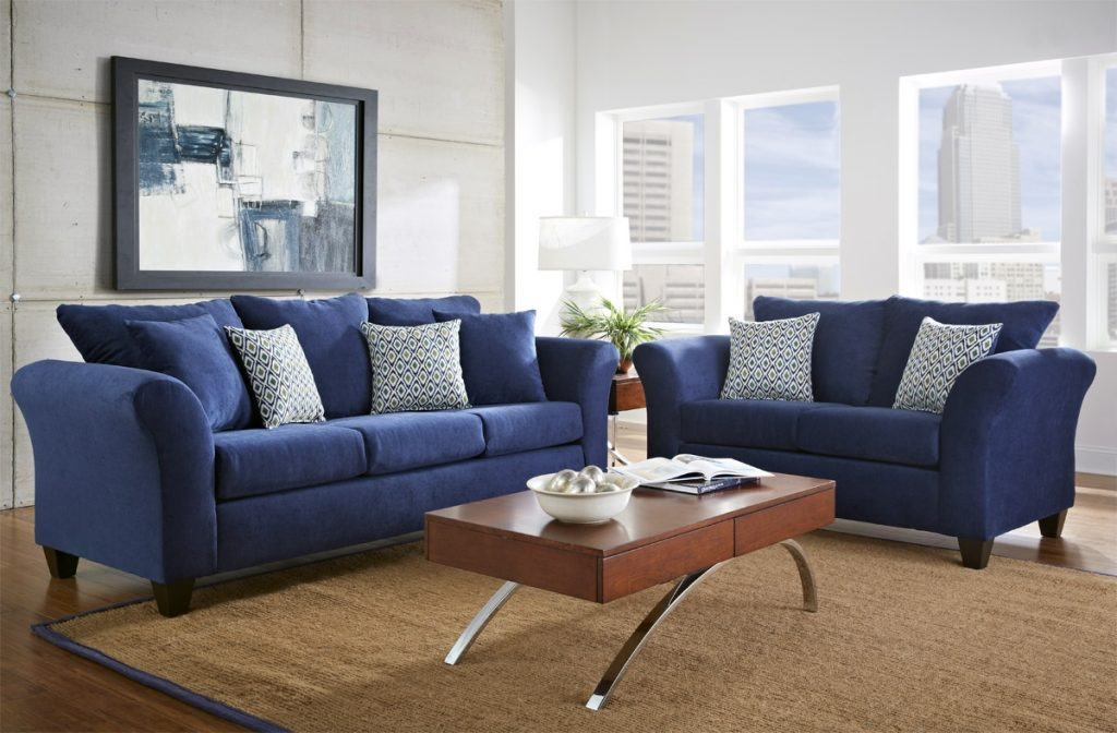 Amazing Of Gray And Blue Living Room Ideas With Blue Livi 997