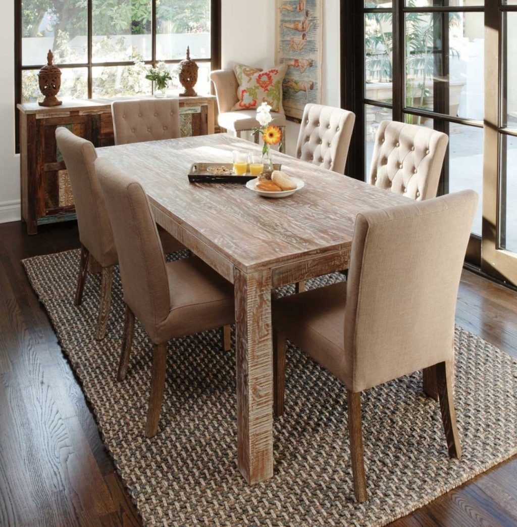 Amazing Rustic Wood Dining Table Set 18 Reclaimed Inspirational 43