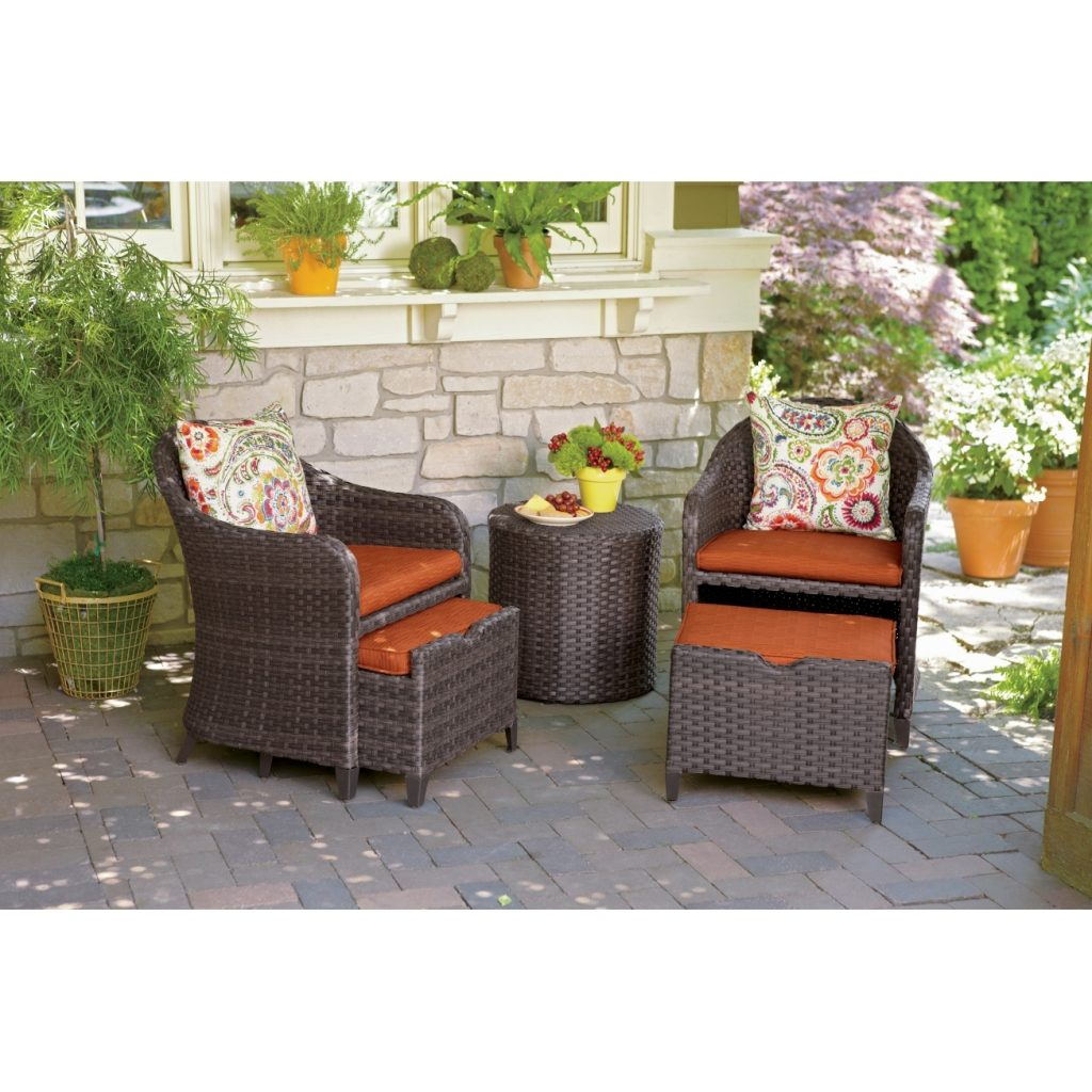 Amazon Com Rst Brands Best Patio Chair And Ottoman Home Design Ideas