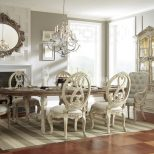 American Drew Jessica Mcclintock Boutique Oval Dining Table Set W