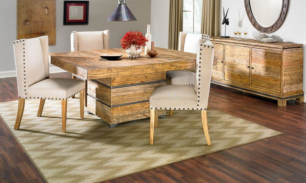 American Way Solid Pine Dining Set The Dump Luxe Furniture Outlet