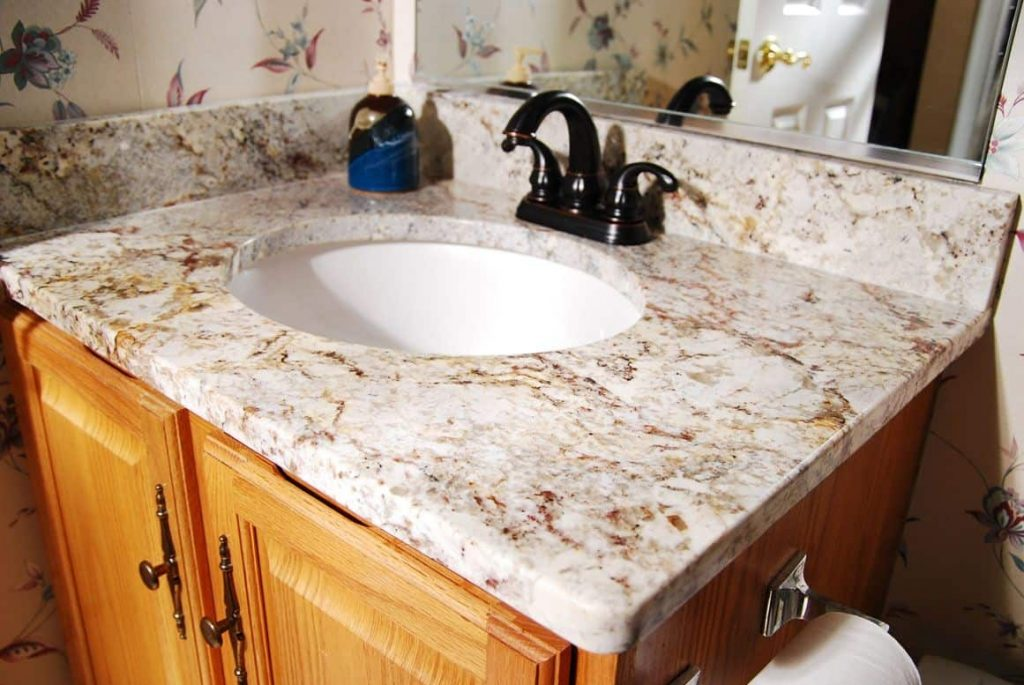Amusing Small Bathroom Vanity With Undermount Sink And Granite