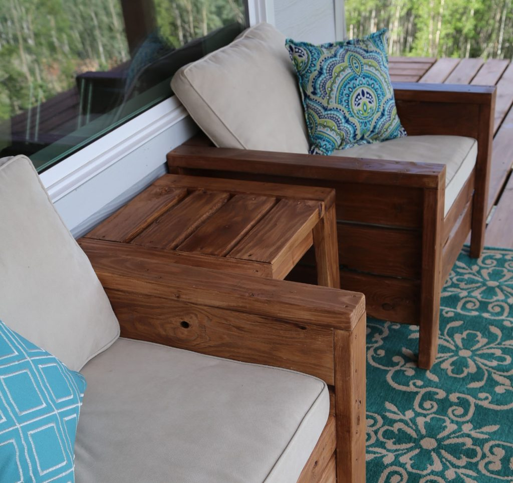 Ana White Modern Outdoor Chair From 2x4s And 2x6s Diy Projects