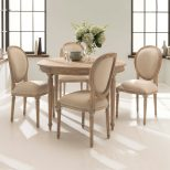 Antique French Style Dining Table Set Shab Chic