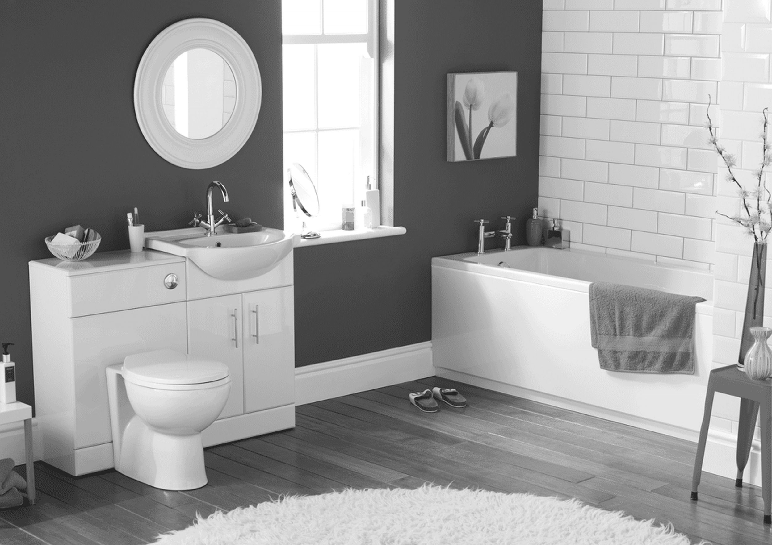 Article With Tag Light Gray And White Bathroom Ideas Reddingonline Layjao