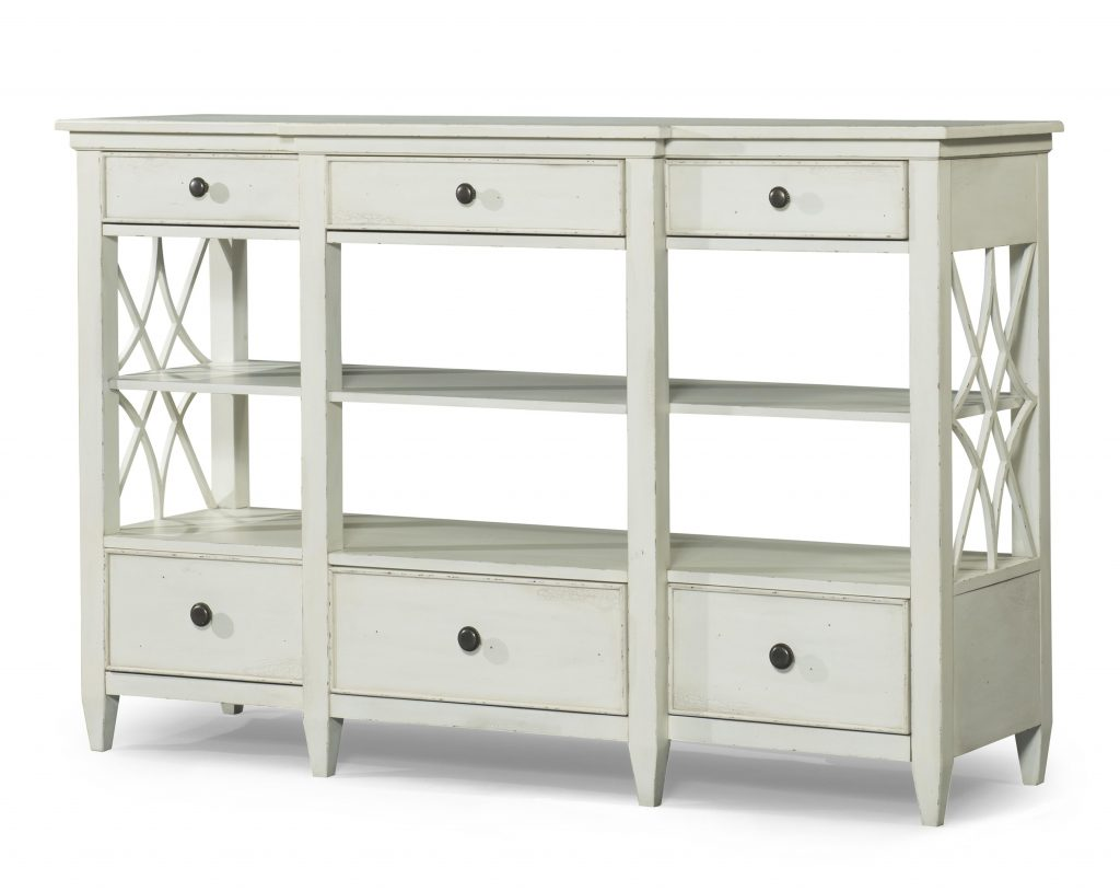 Bakersfield Sideboard With Lattice Pattern On Sides Trisha