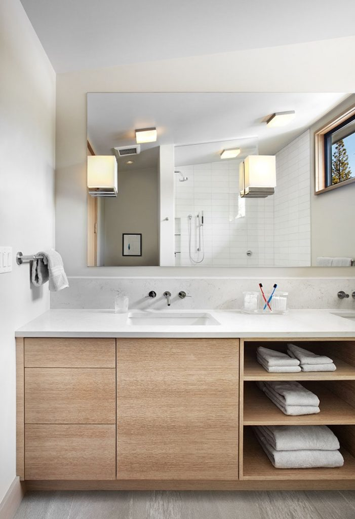 Bathroom Bath Vanities Of Bathroom Vanities That Have Open Shelving