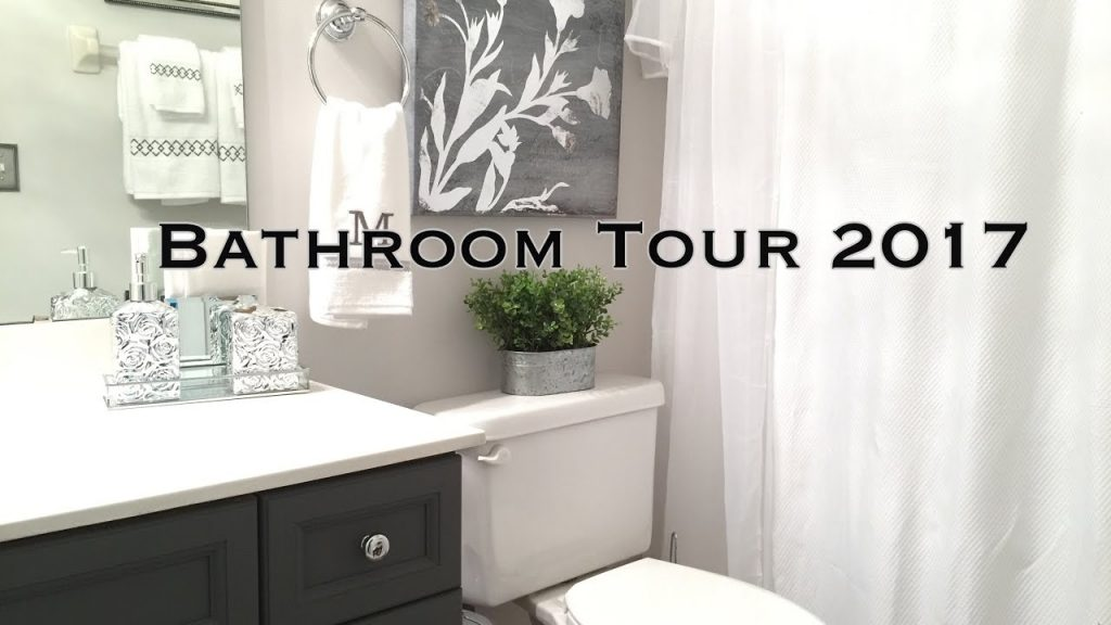 Bathroom Decorating Ideas Tour On A Budget Youtube
