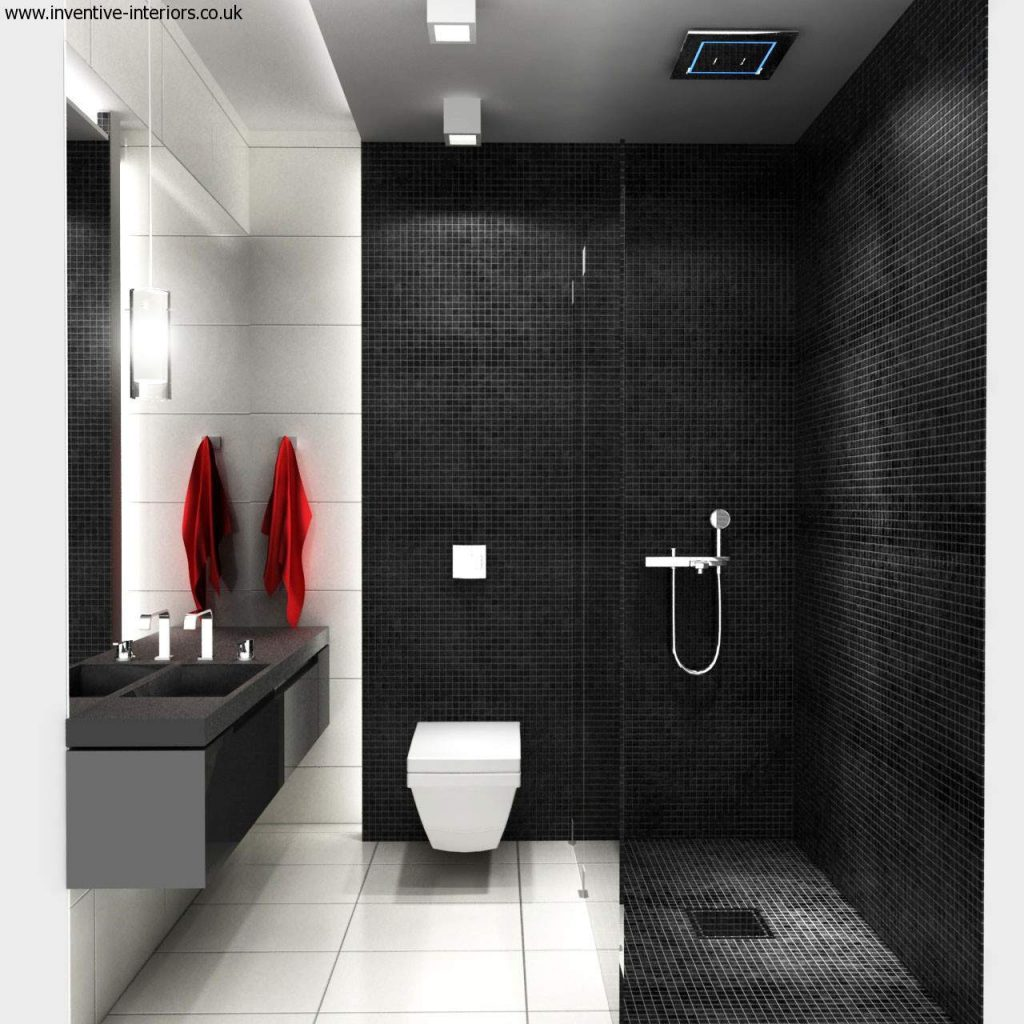 Bathroom Design In Black And White 51 With Bathroom Design In Black