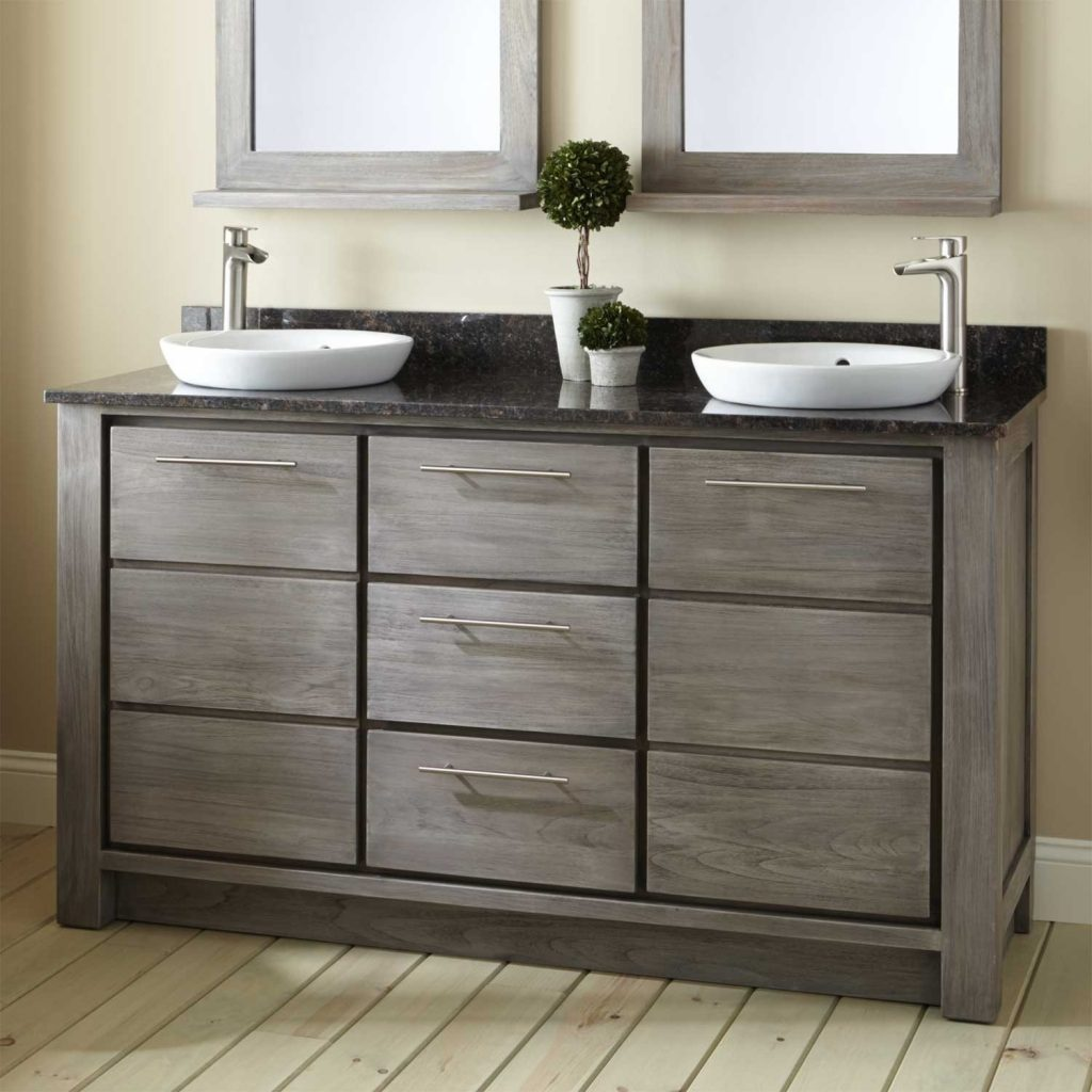 Bathroom Exciting 60 Inch Vanity Double Sink For Modern Craigslist