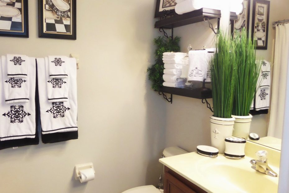 Bathroom Ideas For Decorating On A Budget Guest Be My With Denise