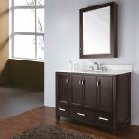 Bathroom Interesting Bathroom Vanity Cabinet Design With Ronbow