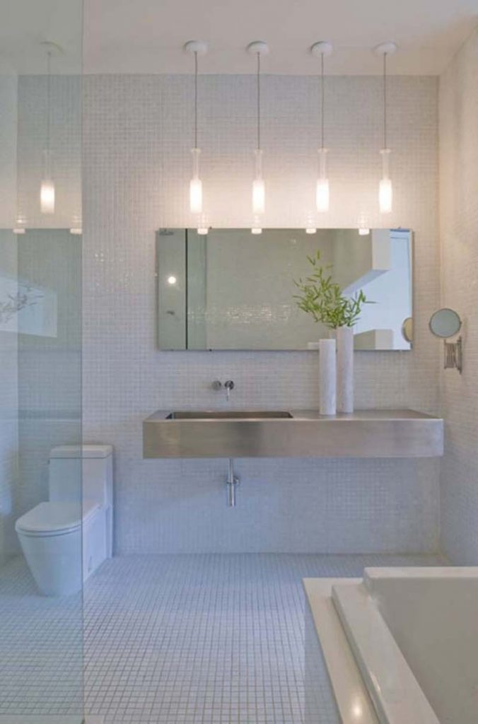 Bathroom Pendant Lighting Fixtures Awesome Tips For Bathroom