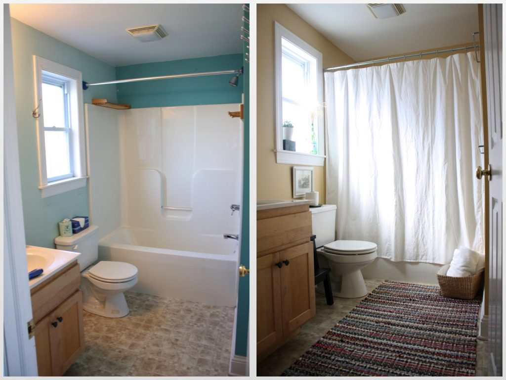 Bathroom Remodel Before And After Amazing Before And After Bathroom