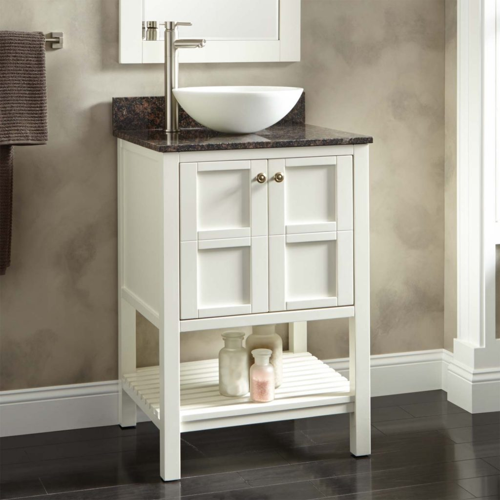 Bathroom Sink Bathroom Cabinets With Bowl Sinks White Vanity With